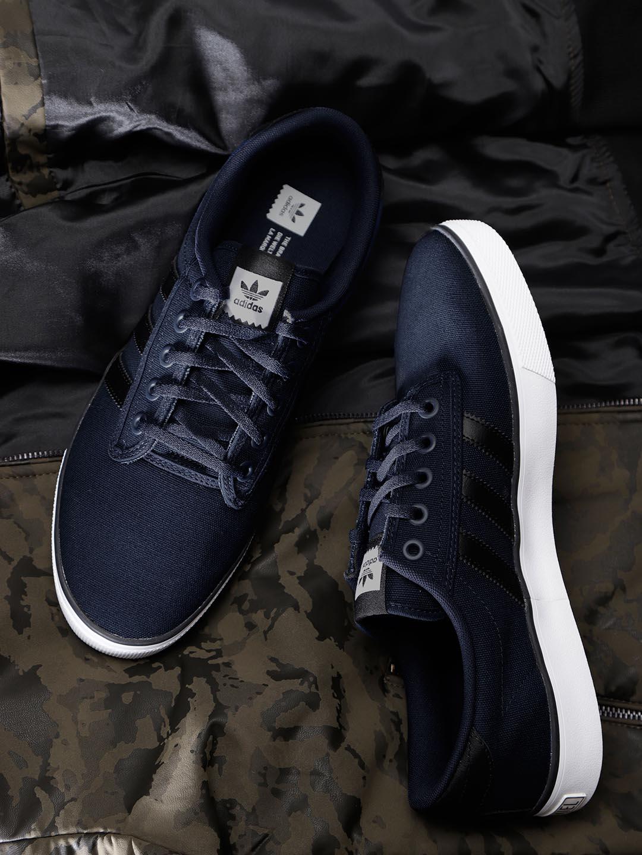 d0b6f94bab83e7 Adidas Originals Kiel Navy Blue Sneakers for Men online in India at ...