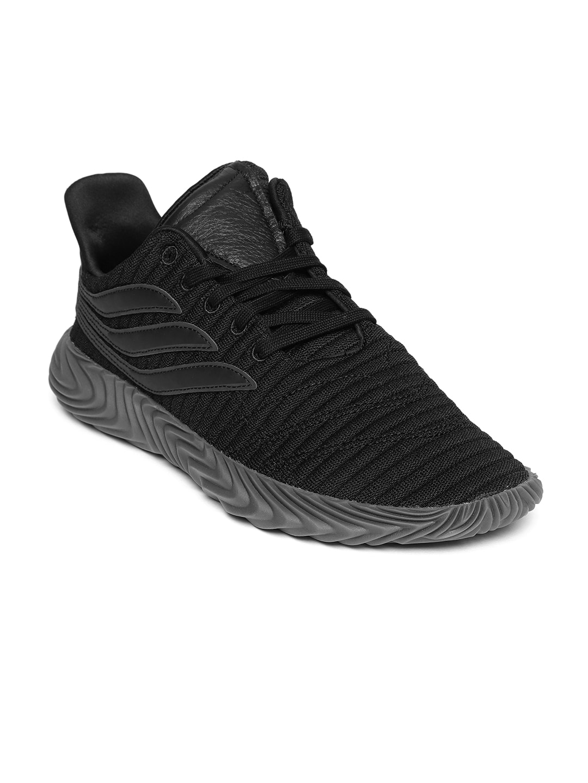 c7efe3ce4c36 Buy ADIDAS Originals Men Black   Peach Coloured SOBAKOV Sneakers ...