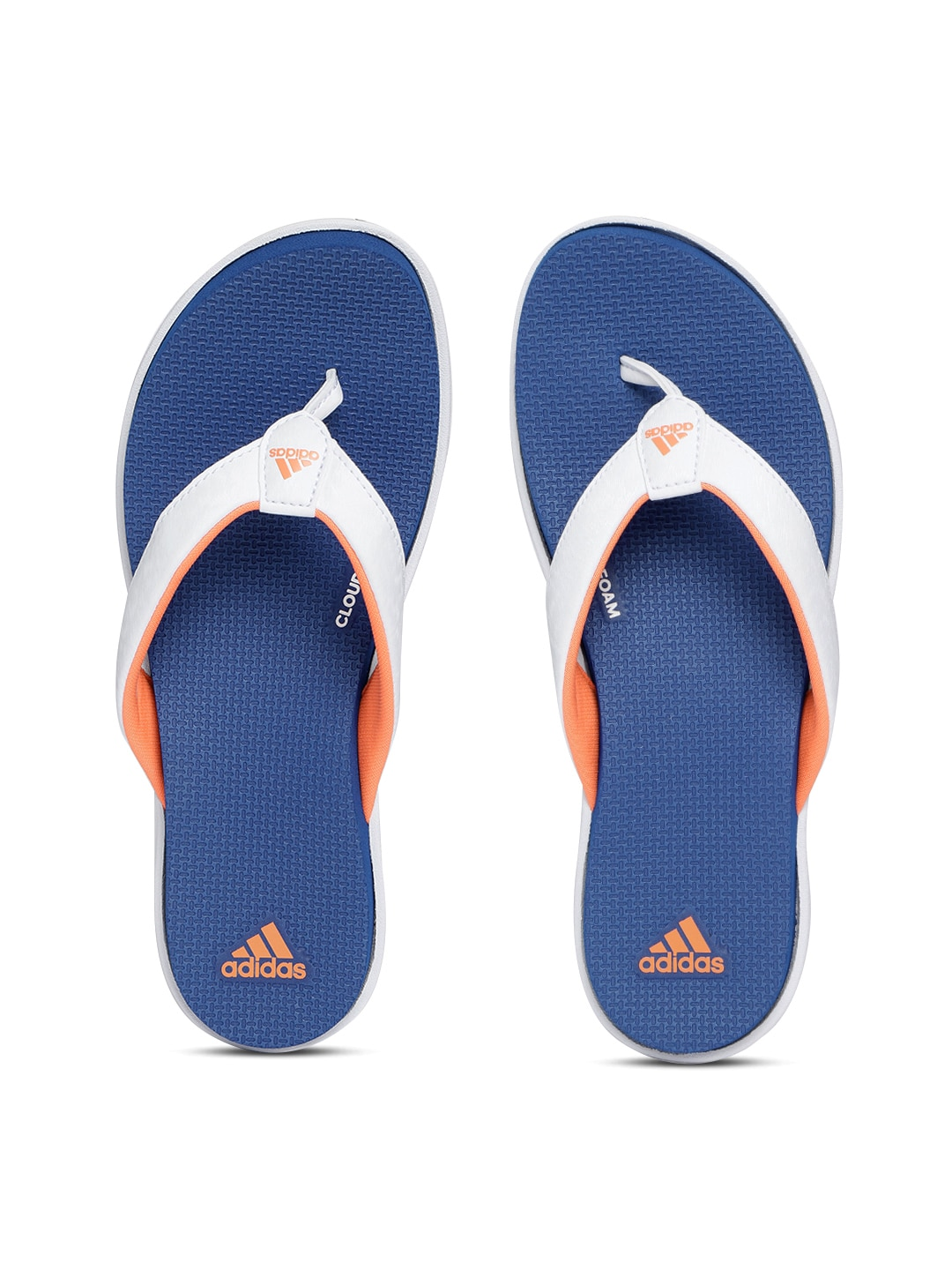 2f8b358cc Adidas Adipure Vivida Thong White Flip Flops for women - Get stylish ...