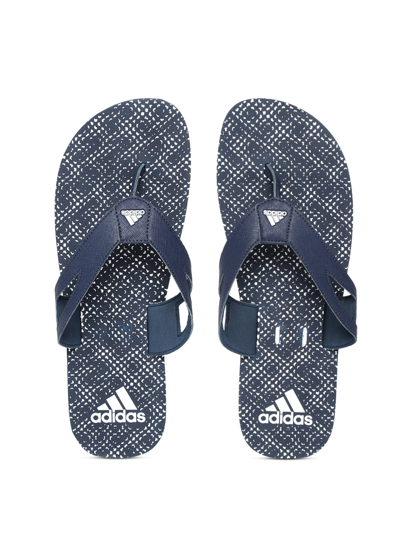 788c85fa39ca Buy ADIDAS Men Black   White Beach Print Maxout 2 Thong Flip Flops ...