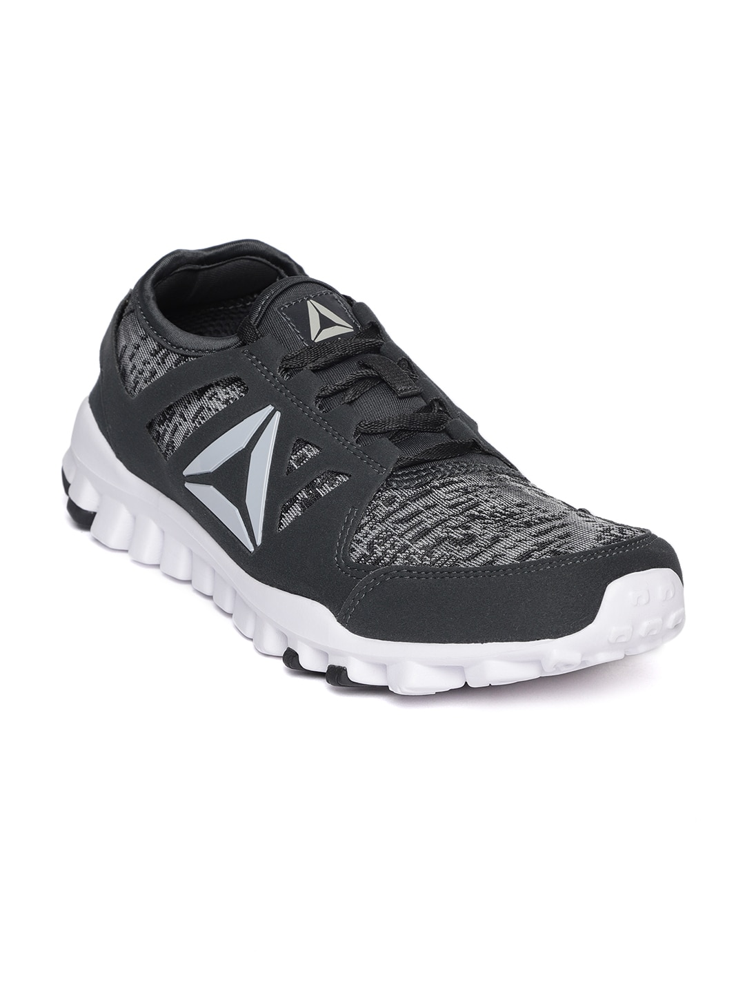 Buy Reebok Men Charcoal Grey Identity Flex Xtreme LP Running Shoes ... c883e3ce4