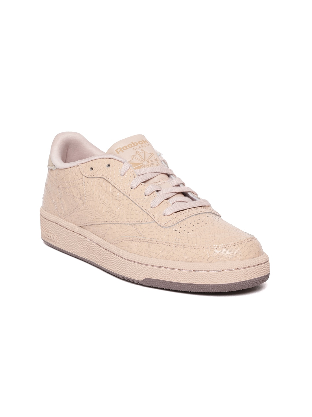 af075d76a Buy Reebok Classic Women Off White Club C 85 Vintage Leather ...