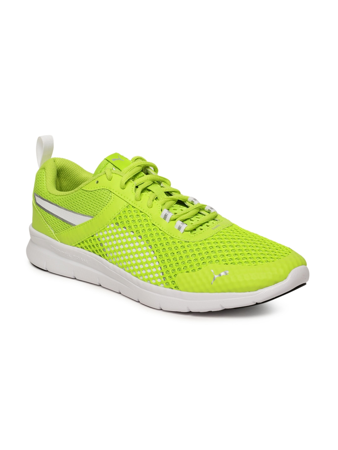 Puma Mobium Ride Green Running Shoes for Men online in India at Best ... 88a849843