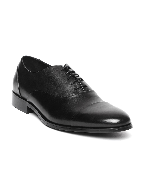 5f14bd11304 Buy Steve Madden Men Black Esos Formal Shoes - Formal Shoes for Men ...