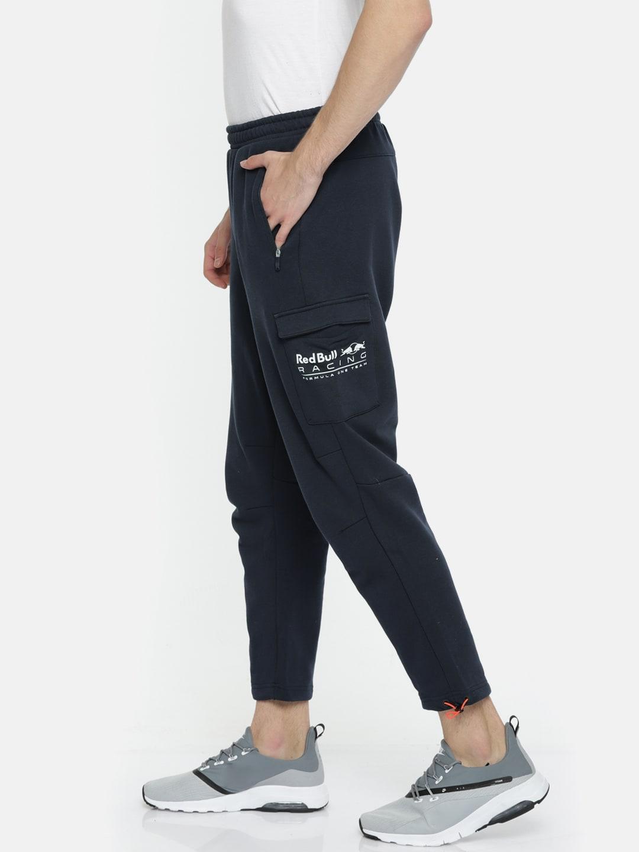 9d4576d0b4c Buy Puma Men White Slim Fit Archive T7 Summer Track Pants - Track ...