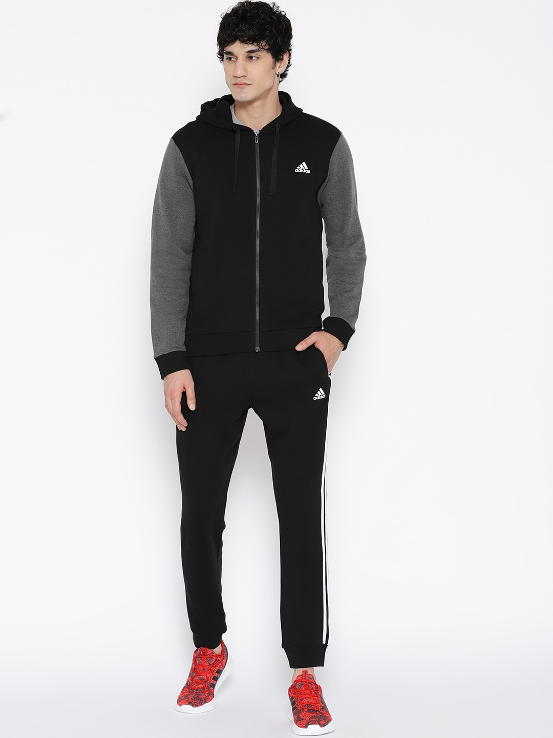 2ce766914fc Adidas Ts Ess Kn Black Tracksuit for men price - Best buy price in ...