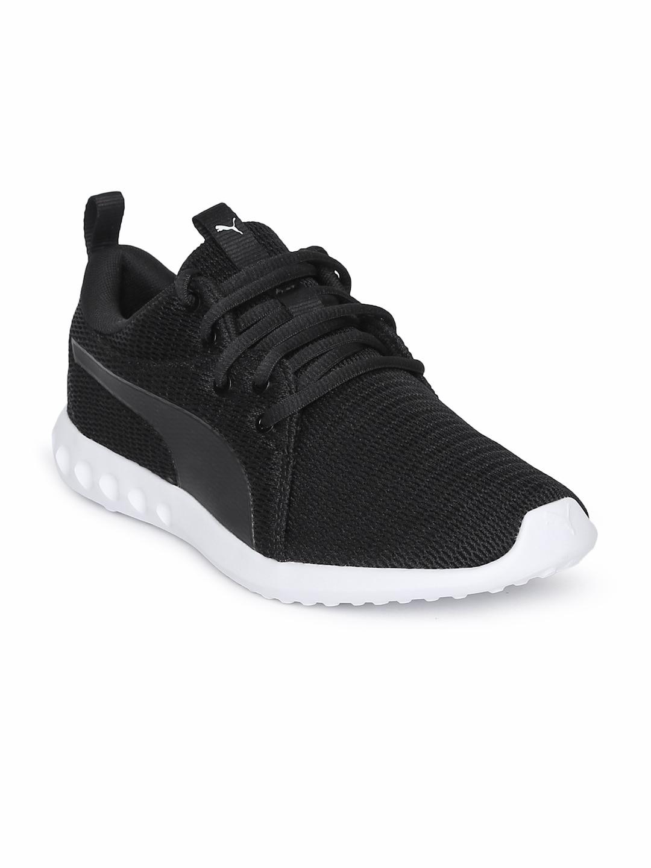 e95424fab Buy Puma Men Black Tishatsu Runner Running Shoes - Sports Shoes for ...