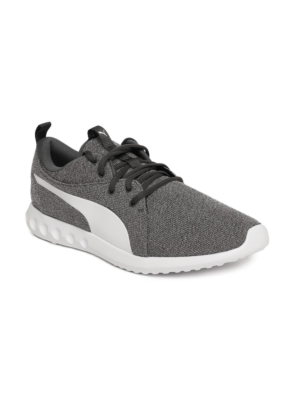 6a8d55fa01ca94 Buy PUMA Men Grey Evo Trainers - Sports Shoes for Men 1434754