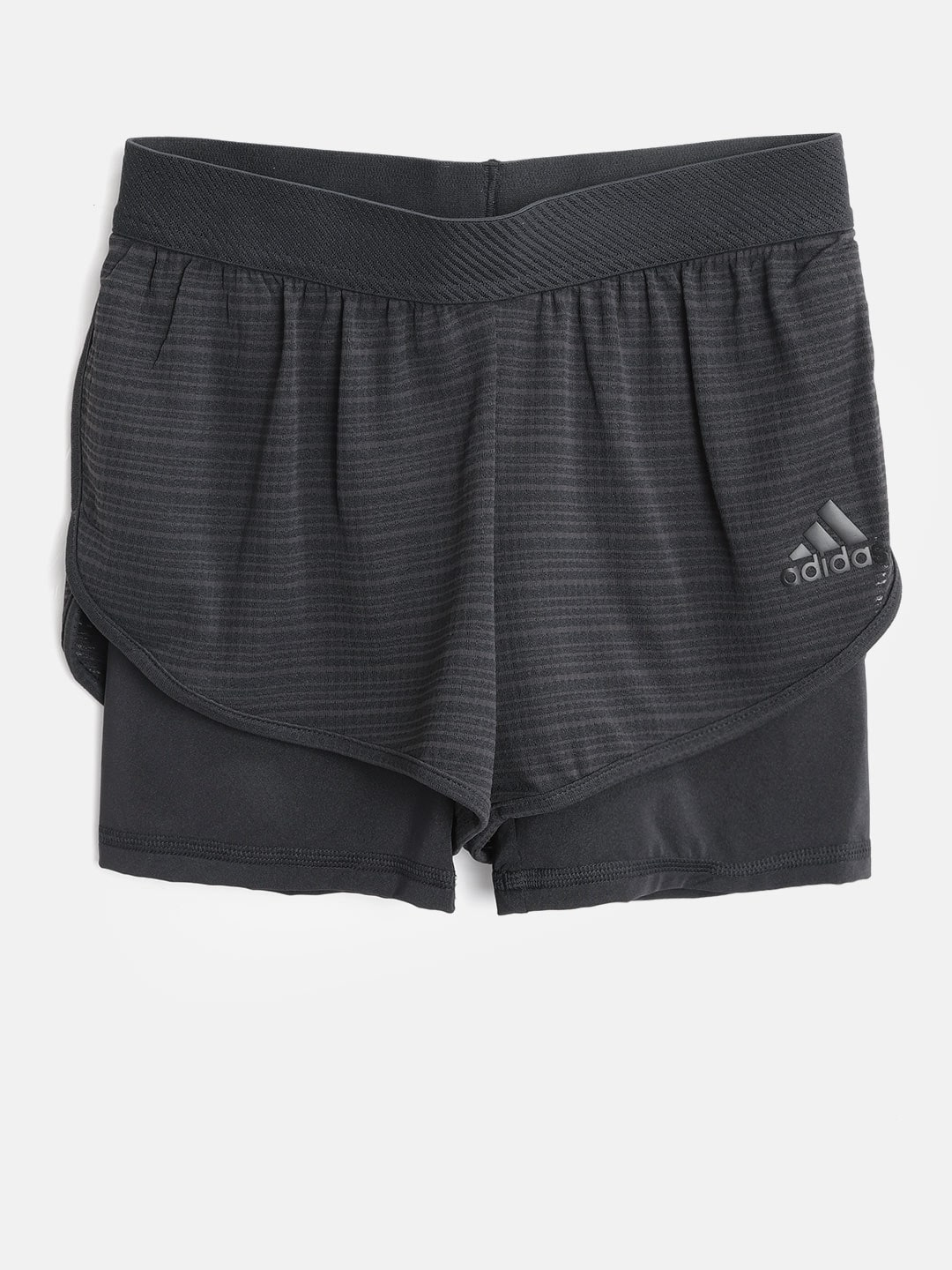 b919f9909 Buy ADIDAS Girls Black YG Run Perforated Sports Shorts - Shorts for ...