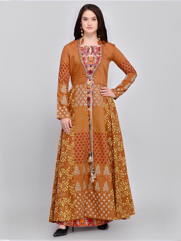 b771b4196b Buy Stylee LIFESTYLE Pink Art Silk Semi Stitched Dress Material ...