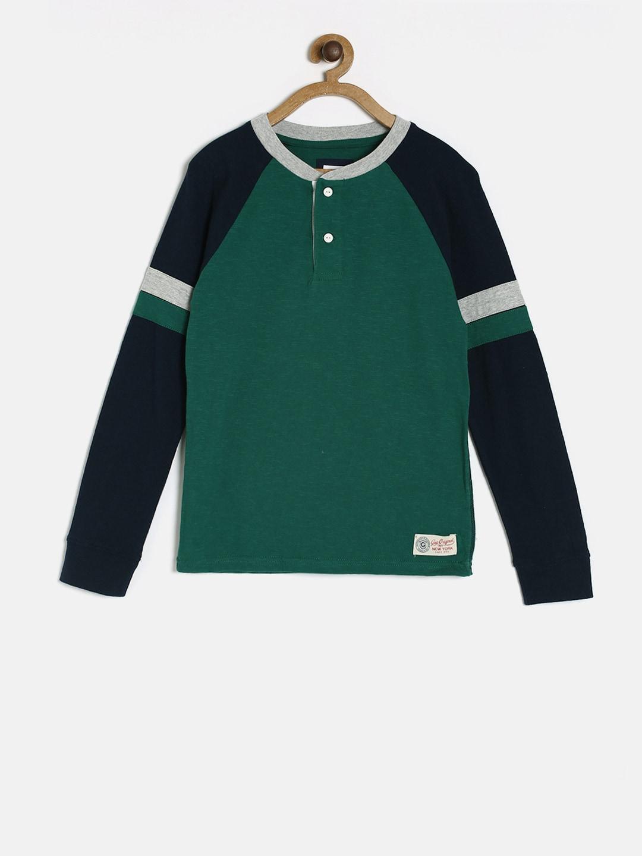 95d0b4bc7e40 Buy GAP Boys' Logo 2 In 1 T Shirt - Tshirts for Boys 7215878 | Myntra