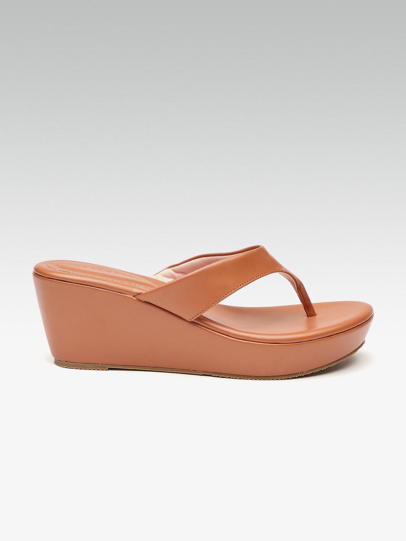 029f406838f Buy VIONIC Women Brown   Gold Toned Printed Heels - Heels for Women ...