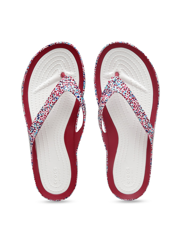 Crocs Chawaii Black Flip Flops