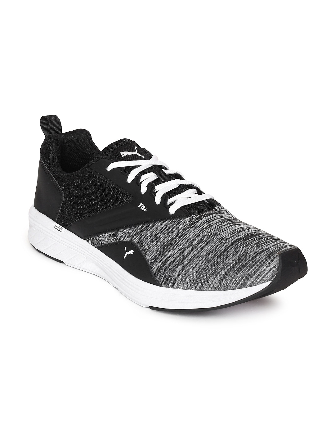 5ad4afcb302067 Buy Puma Unisex Charcoal Grey   Black Wired Knit Training Shoes ...