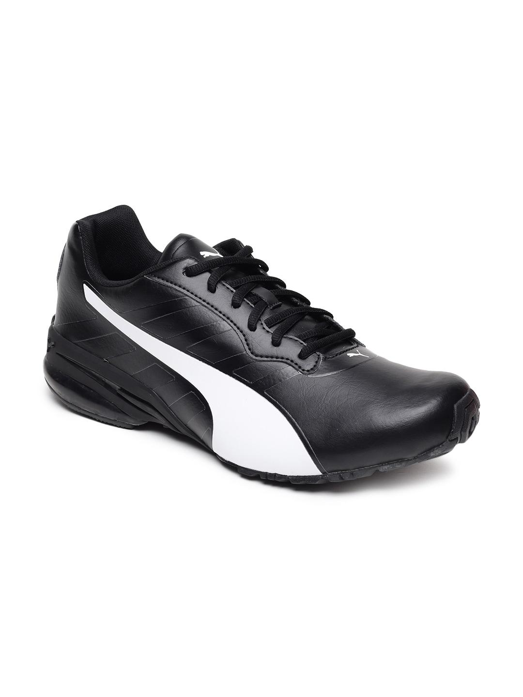 f91c2d54690 Buy Puma Men Black Hexa Dot Running Shoes - Sports Shoes for Men ...