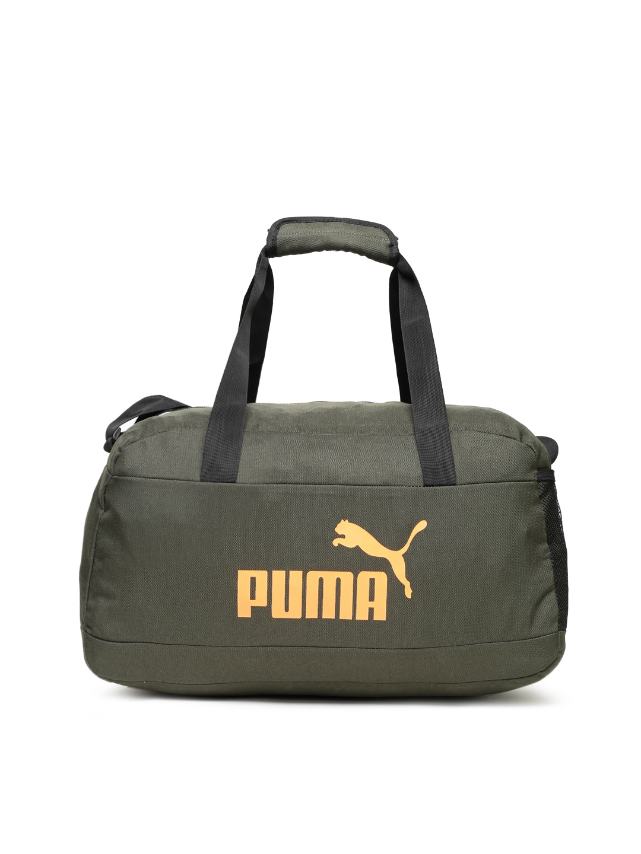 25dc1b628c4a Buy Puma Unisex Blue   Black Colourblocked LIGA Small Duffel Bag ...