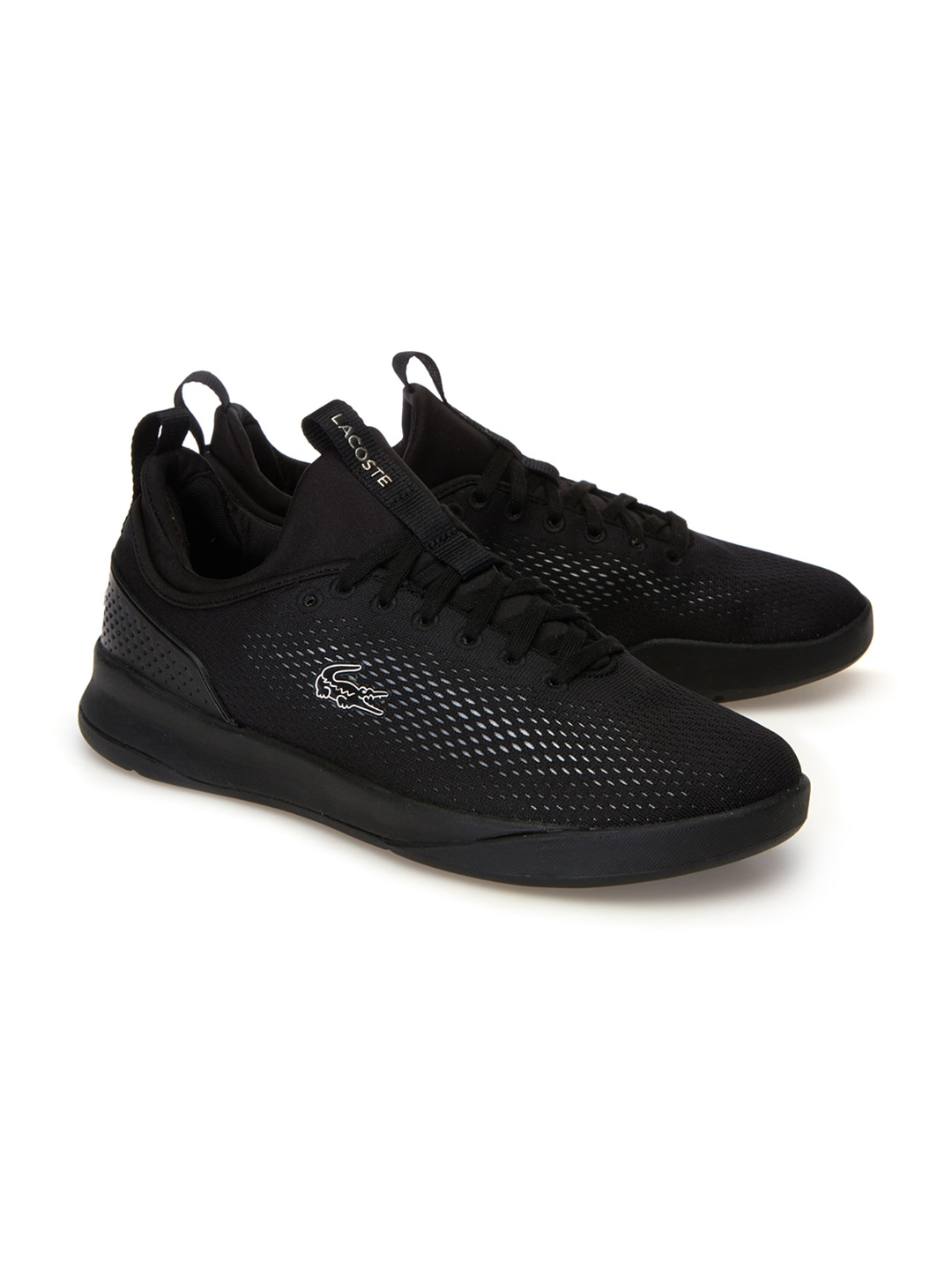 81fda398343aa Buy Lacoste Men Black Training Or Gym Shoes - Sports Shoes for Men ...