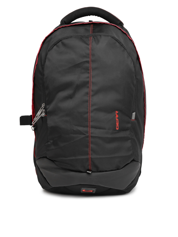 d8d16b9a96 Gear lbpotlnr30109 Unisex Black Outlander 3 Waterproof Backpack- Price in  India