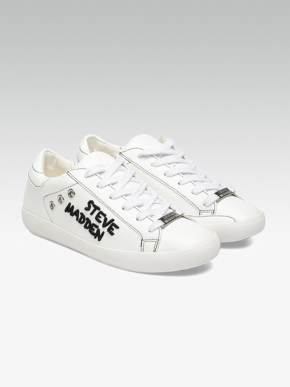 968869e8205 Buy Steve Madden Women White BERTIE D Sneakers - Casual Shoes for ...