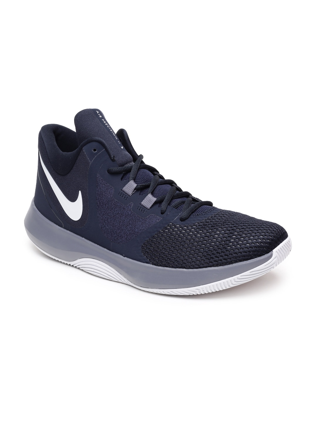 b440fea6a33f6 Nike Air Precision Ii Navy Blue Basketball Shoes for Men online in ...