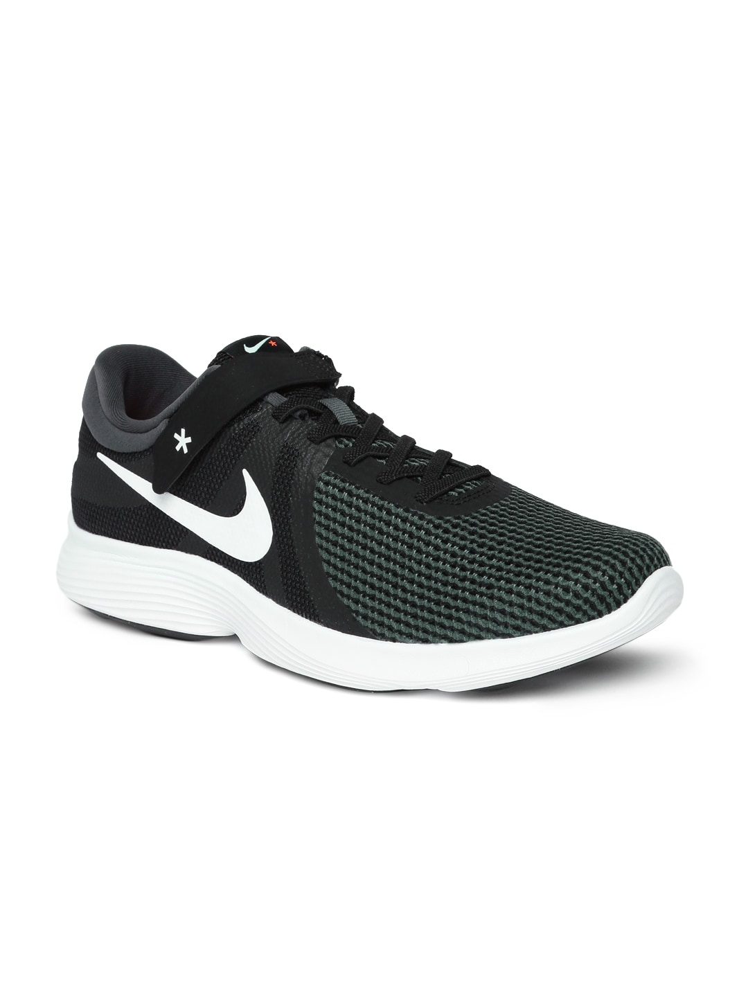0671ba1af04 Buy Nike Men Back   Grey Revolution 3 Running Shoes - Sports Shoes ...