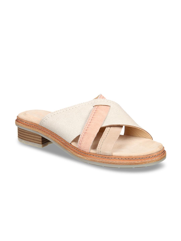 f1e4e5c4d Clarks Wave Glitz Off White Sandals for women - Get stylish shoes ...