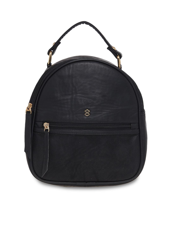288f17c452d4c Buy Elle Women Black Solid Backpack - Backpacks for Women 2185536 ...
