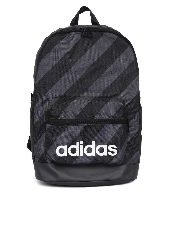 Buy Adidas Unisex Black Solid C. BP POCKET M Backpack - Backpacks ... 157a8589e76b4