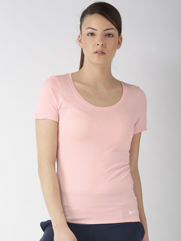 07205829 Buy ADIDAS Women Peach Coloured FR Supernova Running T Shirt ...
