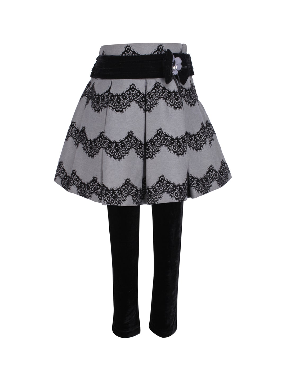 4ae62fec3de Buy CUTECUMBER Navy Blue Solid Pleated Skirt - Skirts for Girls ...