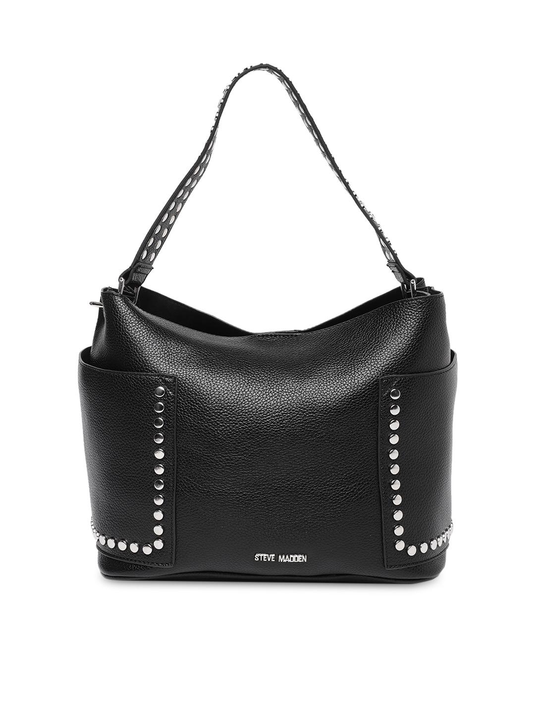 841f230a778 Buy Steve Madden Olive Green Solid Hobo Bag - Handbags for Women ...