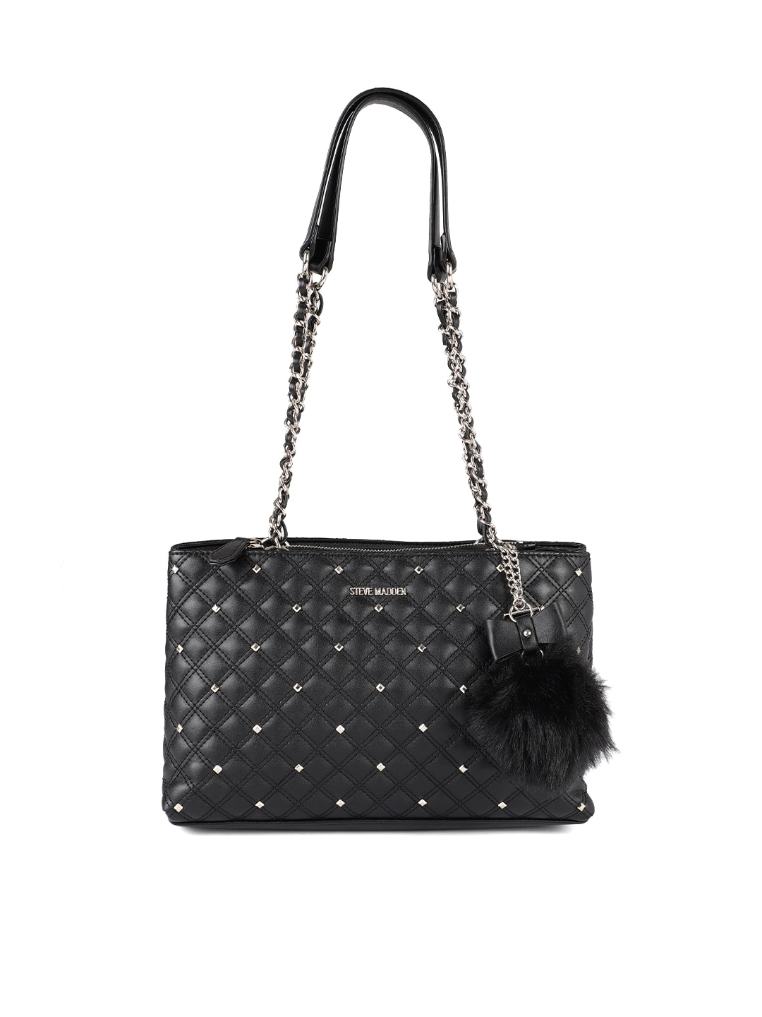 ca5d68d088 Steve Madden Black Studded Handbag - Foto Handbag All Collections ...
