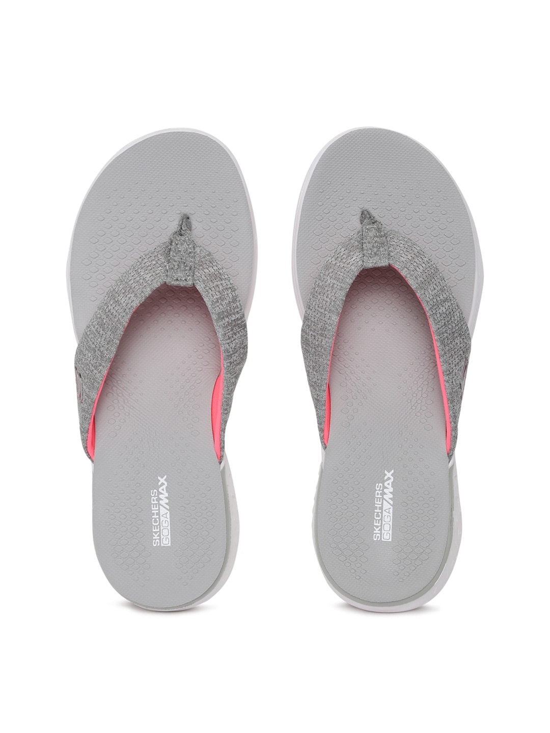 c0e5fed4681f Skechers Vinyasa Grey Slippers for women - Get stylish shoes for ...