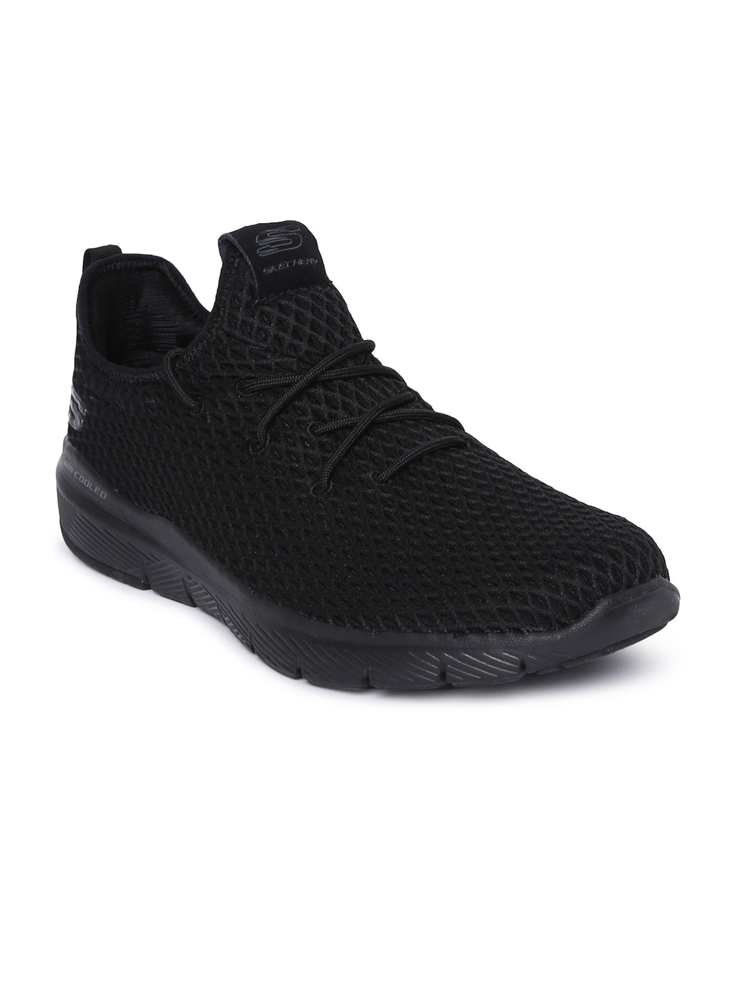 f7ddf00970acd Buy Skechers Men QUANTUM FLEX ROOD Black Sneakers - Casual Shoes for ...