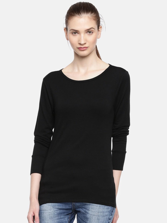 9c7571b9ae4f Buy GAP Women's Modern Long Sleeve Crewneck T Shirt - Tshirts for ...