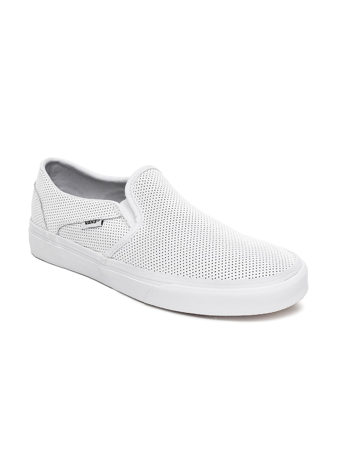 64dcc34250342f Vans Asher White Casual Sneakers for women - Get stylish shoes for ...