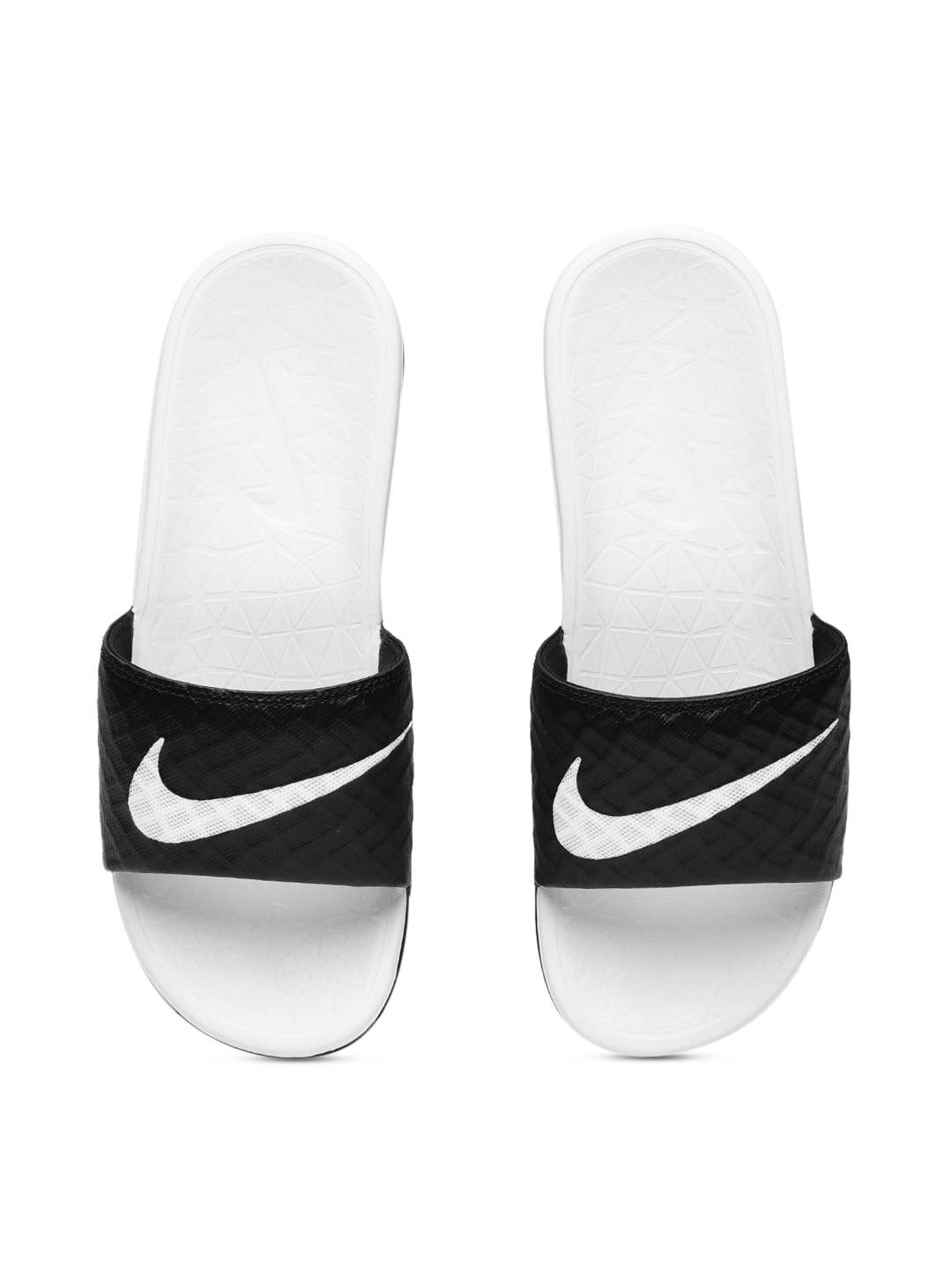 600b8a585 Black Solid Sliders NIKE KAWA for Boys in India May