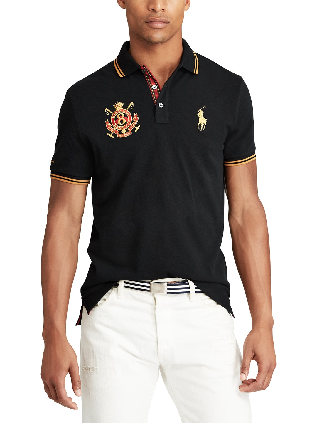 3c81294a Buy Polo Ralph Lauren Classic Fit Mesh Polo Shirt - Tshirts for Men ...