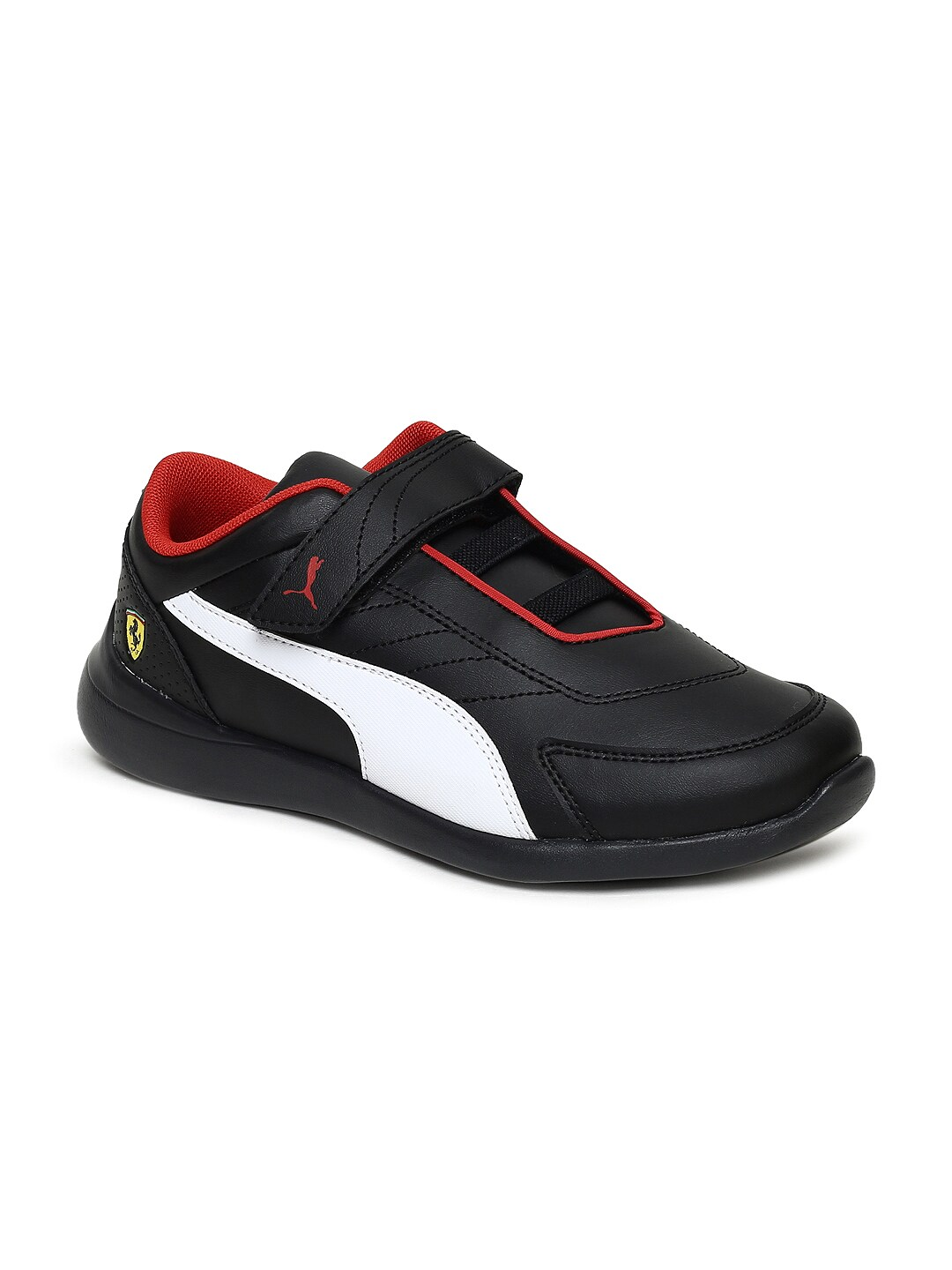 fa5a25193913 Puma Valorosso Sf V Kids Black Sneakers for girls in India - Buy at ...
