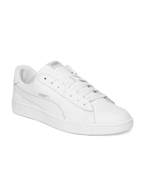 PUMA Women's PUMA Smash V2 L Perf Sneaker PUMA WhitePUMA White Sneakers from shoes | ShapeShop