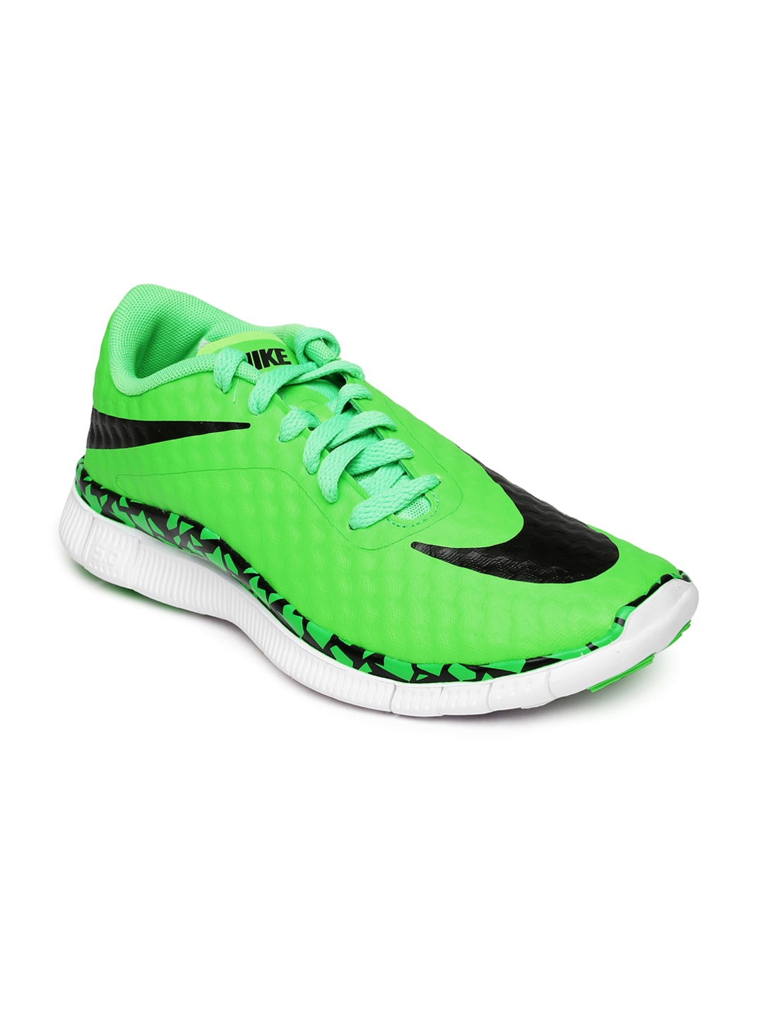 competitive price e55a8 9466a Nike 705390-300 Kids Green Free Hypervenom Casual Shoes