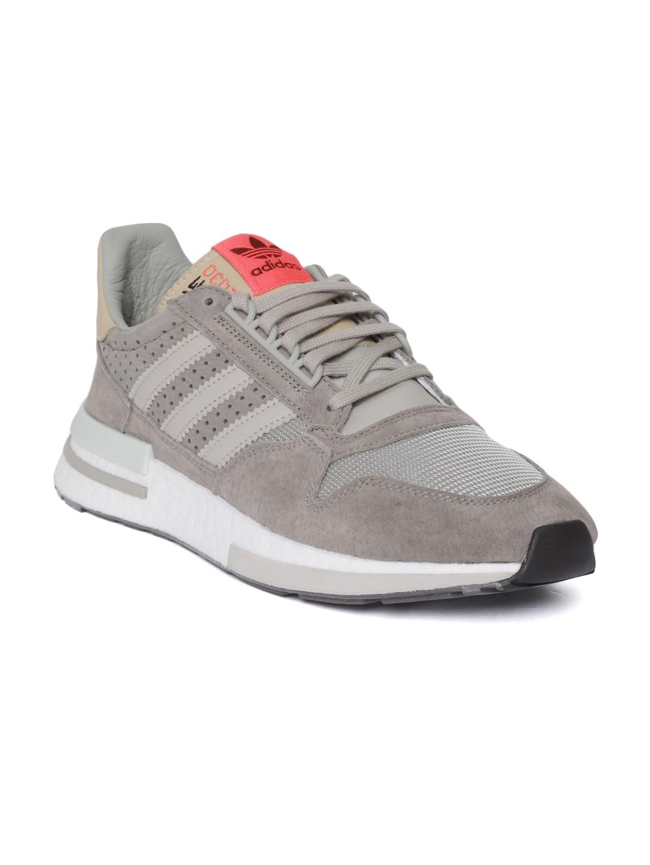 bf9f80f77 Buy ADIDAS Originals Men Charcoal Grey ZX 500 RM Sneakers - Casual ...