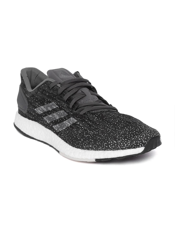 febf500c9 Buy ADIDAS Men Black   Grey Pureboost DPR LTD Running Shoes - Sports ...