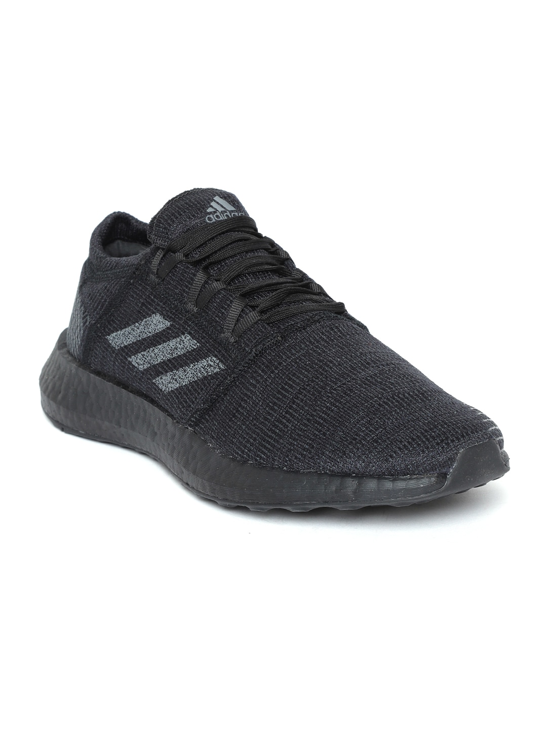 e8904a414cea6 Buy ADIDAS Men Black   Grey Pureboost DPR LTD Running Shoes - Sports ...