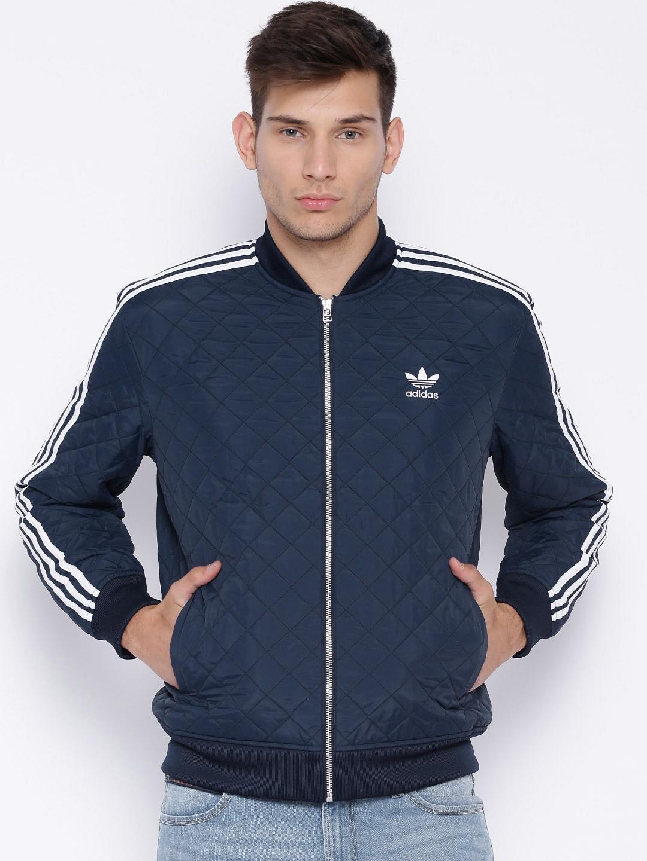 Adidas originals ab7860 Navy Quilted Sst Jacket Best Price