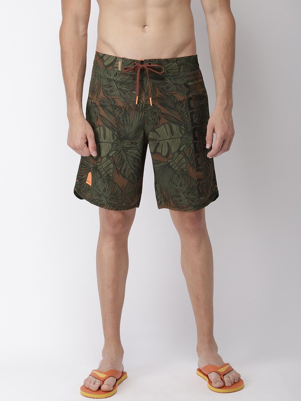 43cede7caf Buy Reebok Men Black Solid Basic Boxer Swim Shorts - Swim Bottoms ...