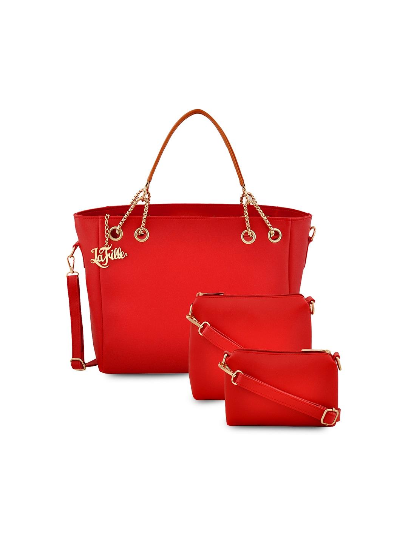 7f910c7321 Buy Bagsy Malone Red Solid Handheld Bag - Handbags for Women 8887099 ...