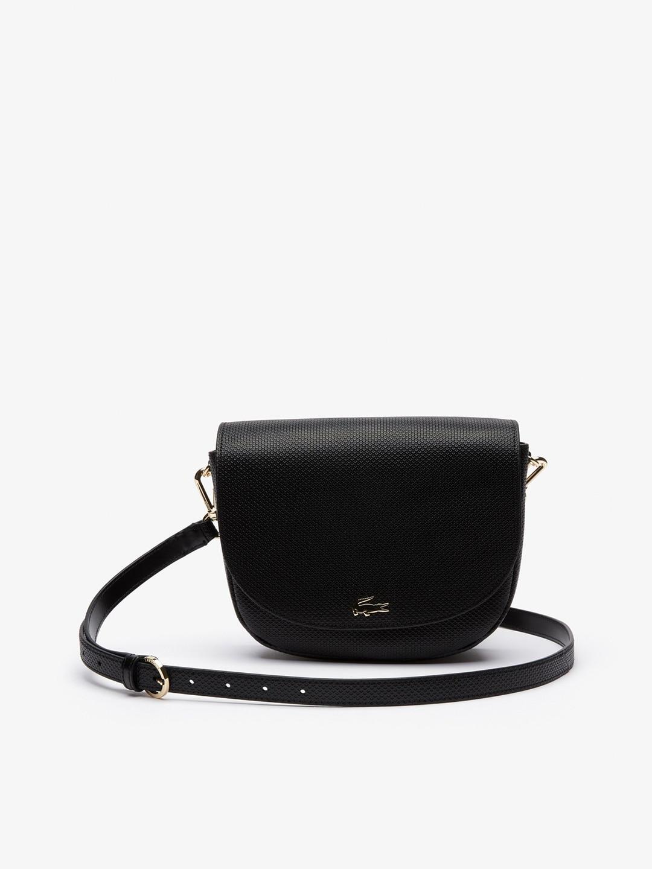 4941b3a4660 Buy Lacoste Black Solid Sling Bag - Handbags for Women 2017018   Myntra