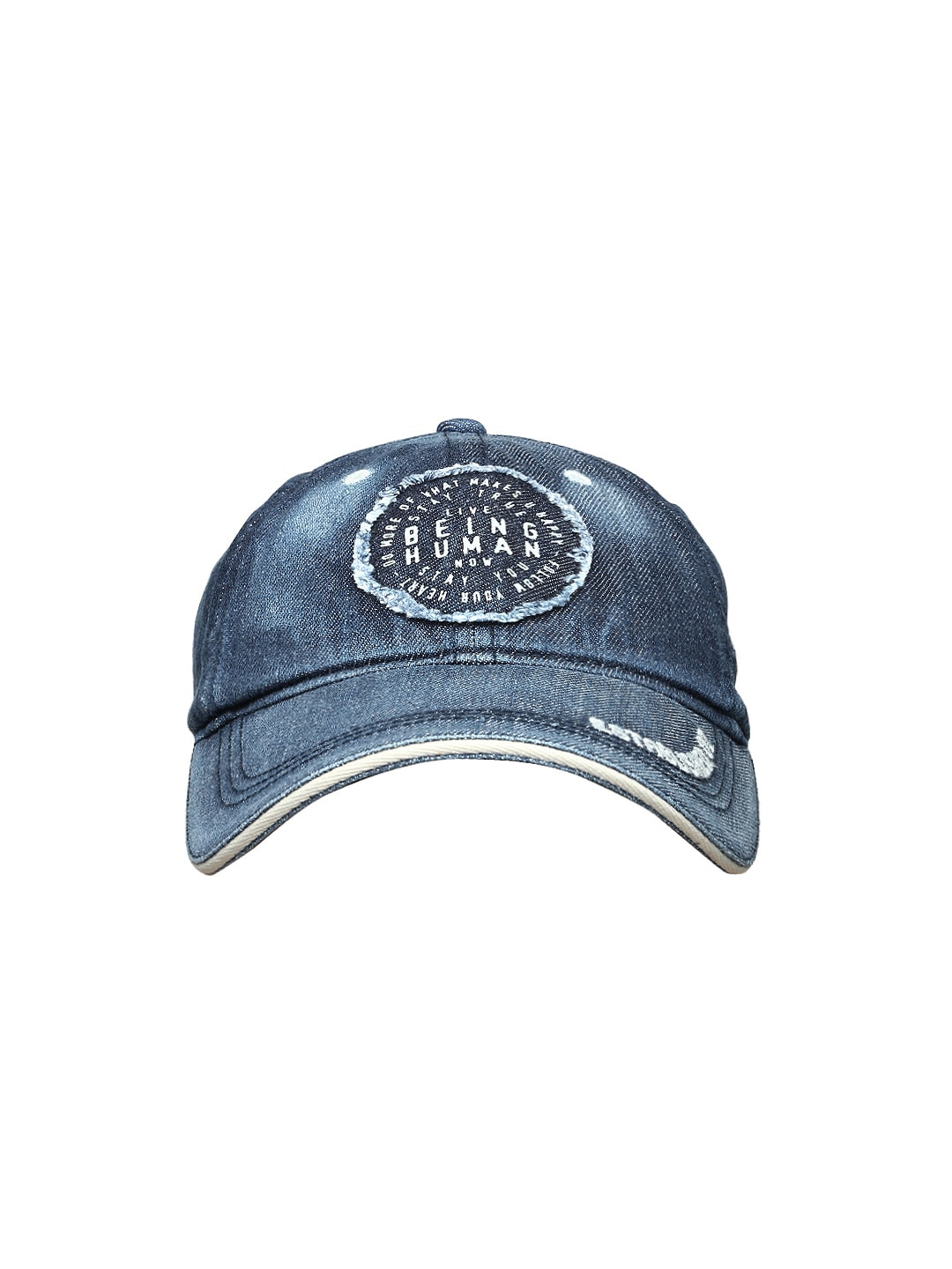 84a80f14475 Being human bhc5062-navy Men Blue Denim Cap - Best Price in India ...