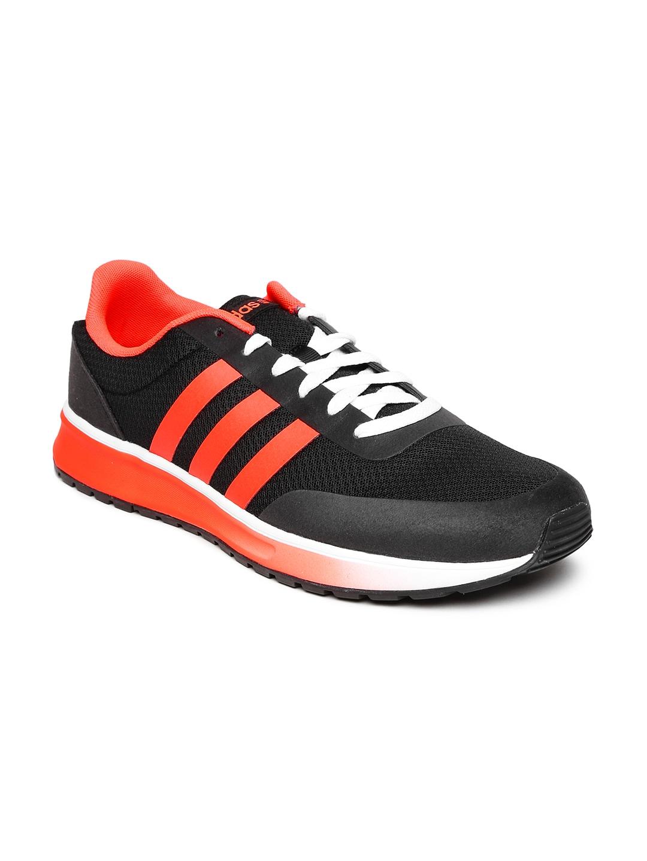 adidas neo f98743 men black and orange v racer tm ii sports shoes price in india